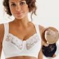 Miss Mary of Sweden Soft Cup Bra for Perfect Shape White (2105)