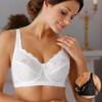 Miss Mary of Sweden Bra with Underwire White (2687)