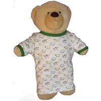IdaT Build a bear / dukke kjole multiprint grøn