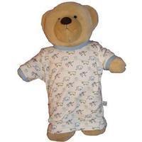 IdaT Build a bear / dukke kjole multiprint lyseblå