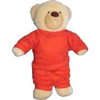 IdaT Build a bear / dukke heldragt rød fugle
