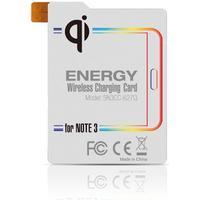 Qi Energy Card för trådlös laddning av batteriet i Galaxy Note 3
