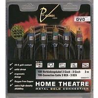 "Hama audio-kabel ""Home Theatre Metal Gold"" 3 m"