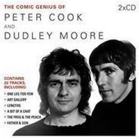 Comic Genius of Peter Cook and Dudley Moore (Ljudbok CD, 2013), Ljudbok CD
