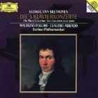Beethoven Abbado/pollini/berliner P - Pianokonsert 1-5