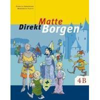 Matte direkt. Borgen. 4 B, Grundbok (Häftad, 2004)