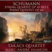Schumann Takacskvartetten - Stråkkvartett 3 / Pianokvintett