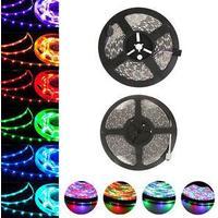 5 meter LED Strip - 7.5w/m, 30 led/m - RGB (Stænktæt)
