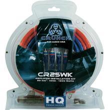 Crunch Förstärkarekabel-set Crunch cr25wk 25 mm²