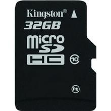 Kingston MicroSDHC Class 10 32GB