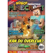 Tidningen Robot presenterar Minecraft 8 nummer