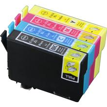 Epson 18 XL bundle 4 stk (1 stk. sort 18.2 ml 1 stk. cyan / magenta / gul 15 ml) kompatibel