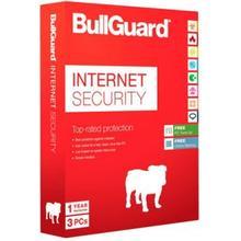 BullGuard Internet Security - 3 PC / 1 år