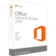 Microsoft Office 2016 Home and Student - Officepaket (Windows)