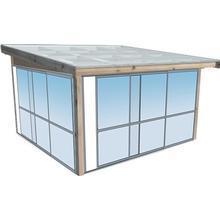 Fira Komplett uterum Fasadmonterat 9,3 m²