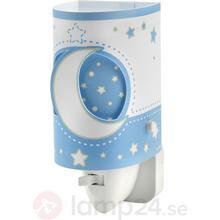 Dalber LED-nattlampa för spädbarn, ljusblå. Energiklass: A