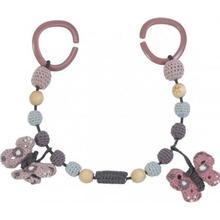 Sebra Crochet Pram Chain Butterfly