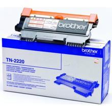 BROTHER Tonerkassett svart 2.600 sidor TN-2220