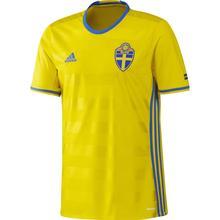Adidas Sweden Soccer Home Jersey Sr