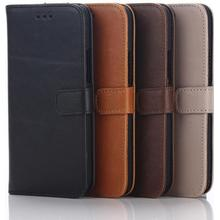 HTC ONE M9 Stilrent plånboksfodral Brun / Brown