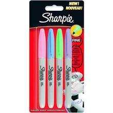 Sharpie Fine Marker 4-pack Pastell