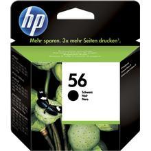 HP 56 svart bläckpatron 19 ml original HP C6656AE