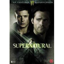 Supernatural: Säsong 11 (6DVD) (DVD 2016)