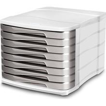 CEP Blankettbox CEP 8 lådor grå
