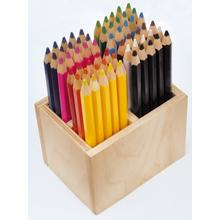 PlayBox Thick Pencils in Rack in 12 Colours 60-pack