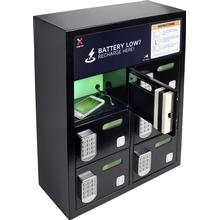 Xtorm by A-Solar Vägguttag USB-laddningsstation Xtorm by A-Solar Charging Locker 6 12 xMicro-USB, Apple Lightning hane 6000 mA Svart
