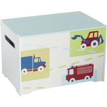 Worlds Apart HelloHome Trucks N Tractors Toy Box