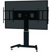 """NewStar PLASMA-M2500MS - Vagn för LCD/plasmapanel/mediaspelare/mini-PC (motoriserad) - svart, RAL 9005 - skärmstorlek: 42""""-100"""