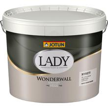 Jotun Lady Wonderwall Väggfärg Vit 9L