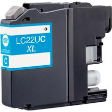 Brother LC22UC Cyan bläckpatron 15ml kompatibel Brother LC-22 UC