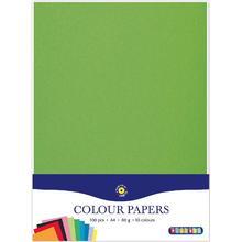 Playbox Färgade papper A4, 80 gr, 100 ark
