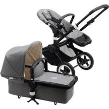 Bugaboo Buffalo Classic+ Collection complete Grey Melange Barnvagn