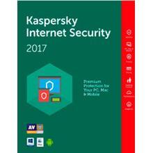 Kaspersky Internet Security 2017- 1 år - 1 enhed