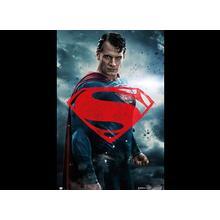 BATMAN V SUPERMAN GLYPH POSTER