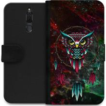 iSecrets Wallet Case Marble Owl (Huawei Mate 10 Lite)