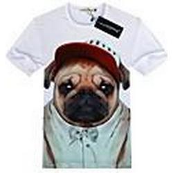 Herren Western All Match 3D-Muster-T-Shirt