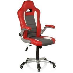 Gaming Stuhl / Bürostuhl RACER SPORT rot / weiß hjh OFFICE