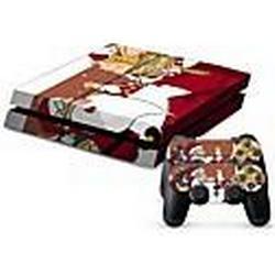 PS4-Konsole Schutzaufkleber Deckhaut Controller Hautaufkleber
