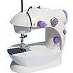 Classic Purple Buttons Mini Electric Sewing Machine