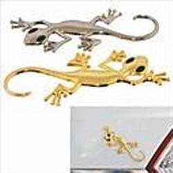 diy Gecko Stil Auto / Motorrad dekorativen Zinklegierung sticker - (2 Stück)