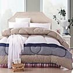 shuian Decke Winter Quilt warm halten Verdickungs Quilts mit dem Drucken Gittermuster