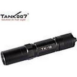 TANK007 TK18 5-Modus Cree XP-G R5 LED Outdoor tragbare Taschenlampe (320lm, 2xcr123 / 2x16340 / 1x18650, schwarz)