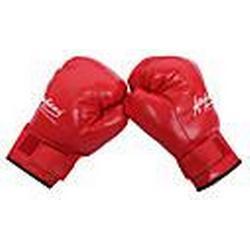 Leder volle Finger tragbar Boxhandschuhe (mittlere Größe)