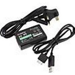 UK Verordnung USB  AC 100-240V Netzteil für PSVITA