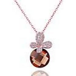 Jinfu elegant Vergoldung Halskette
