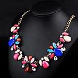 Mondjahr Mode Halskette n00233 Frauen